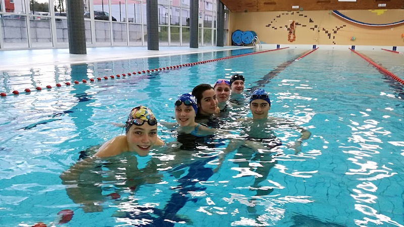 Section sportive natation