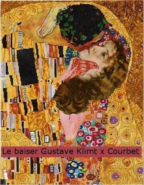 11-Le-baiser-Klimt-Courbet